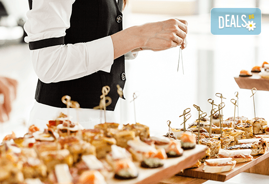 За Вашия специален повод! Вземете микс от 170 солени и сладки хапки от H&D catering - Снимка 2