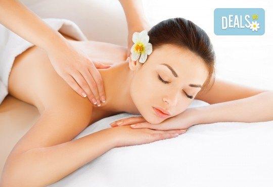 Лечебен масаж на цяло тяло - комбинация от източни и западни масажни техники, в Студио Модерно е да си здрав в Центъра - Снимка 2