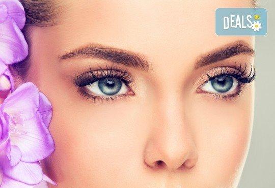 Приковаващи очи! Ламиниране, ботокс и боядисване на мигли в салон за красота Chérie - Снимка 3