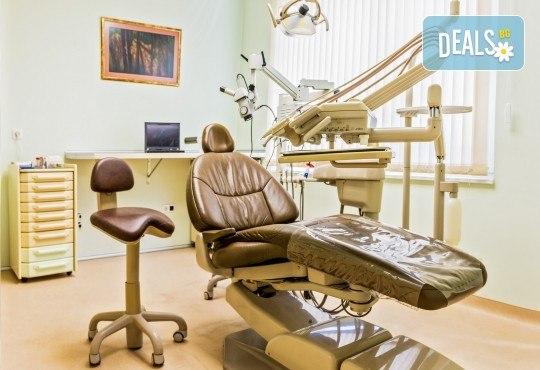 Обстоен преглед, почистване на зъбен камък и зъбна плака с ултразвук в дентална клиника Рай-Дент - Снимка 6