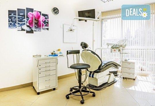 Обстоен преглед, почистване на зъбен камък и зъбна плака с ултразвук в дентална клиника Рай-Дент - Снимка 7