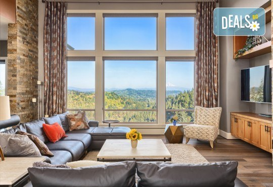 Двустранно почистване на прозорци в дом или офис до 100 кв.м.,