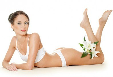 Копринено гладка кожа с 1, 3 или 5 процедури IPL фотоепилация на цяло тяло за жени в салон Орхидея в Студентски град - Снимка