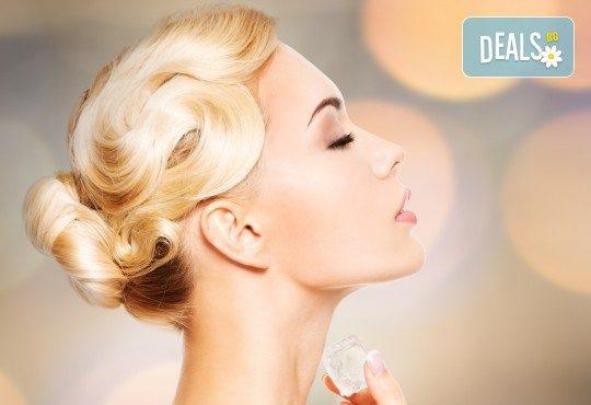 Чиста и сияйна кожа! Дълбоко почистване на лице и криотерапия за затваряне на порите в Beauty Salon Tesori - Снимка 1