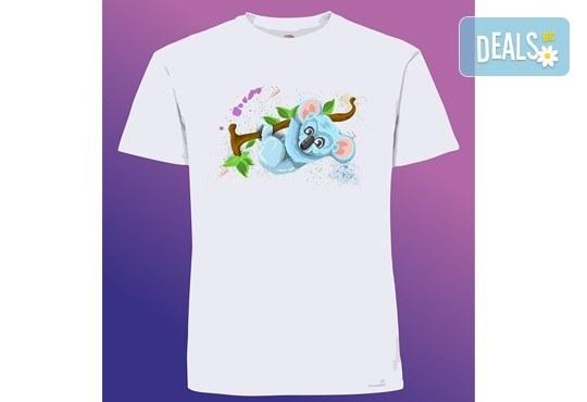 Забавен и оригинален подарък! Тениска с щампа по Ваш избор от Хартиен свят - Снимка 3