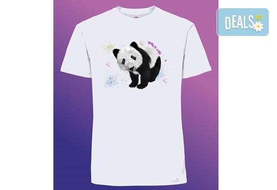 Забавен и оригинален подарък! Тениска с щампа по Ваш избор от Хартиен свят - Снимка 5