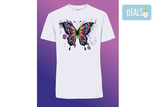 Забавен и оригинален подарък! Тениска с щампа по Ваш избор от Хартиен свят - Снимка 1