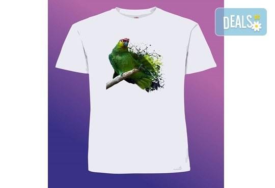 Забавен и оригинален подарък! Тениска с щампа по Ваш избор от Хартиен свят - Снимка 6