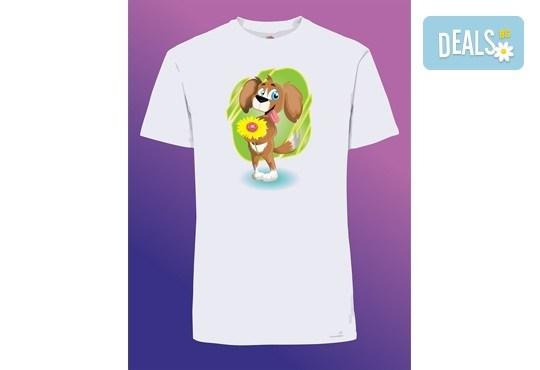 Забавен и оригинален подарък! Тениска с щампа по Ваш избор от Хартиен свят - Снимка 2