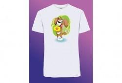 Забавен и оригинален подарък! Тениска с щампа по Ваш избор от Хартиен свят - Снимка