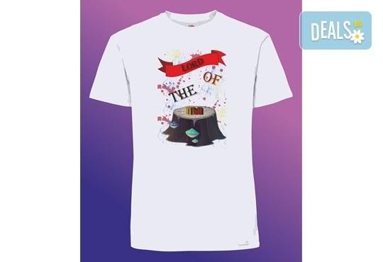 Забавен и оригинален подарък! Тениска с щампа по Ваш избор от Хартиен свят - Снимка 9