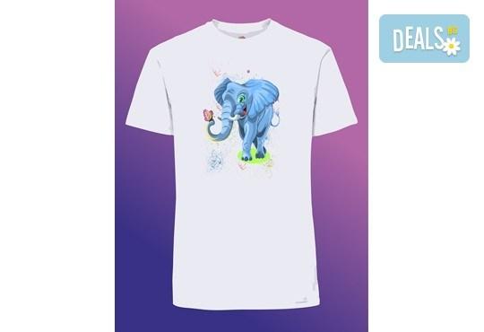 Забавен и оригинален подарък! Тениска с щампа по Ваш избор от Хартиен свят - Снимка 7