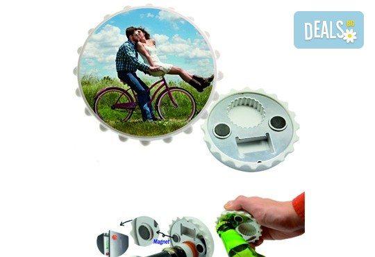 Изработка на магнит-отварачка с индивидуален дизайн на клиента от Хартиен свят - Снимка 1