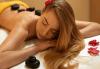 За красивата жена! СПА масаж Златен дъжд със златни частици, парафинова терапия за ръце, масаж на лице, хиалурон или колаген и чаша бяло вино в Senses Massage & Recreation - thumb 4
