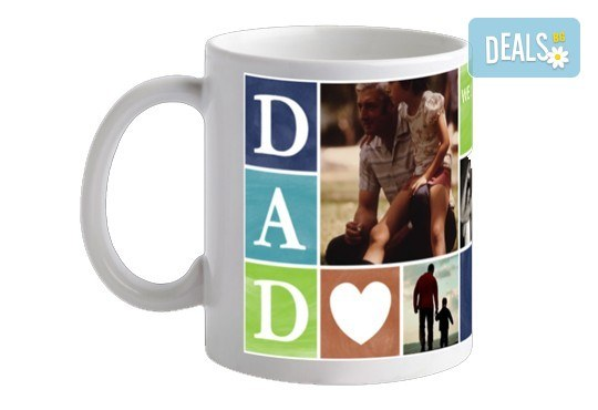 Подарете с любов! 2 или 5 броя Семейна чаша със снимка и надпис, предложение от Офис 2 - Снимка 7
