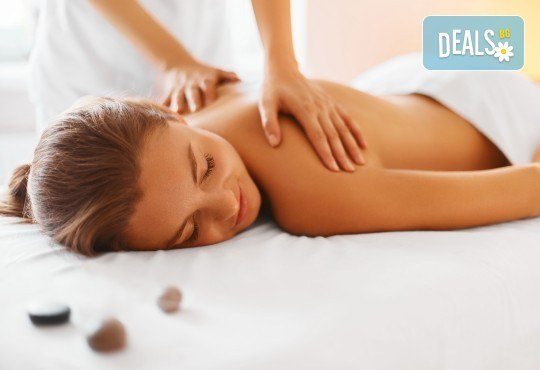 "Лечебен масаж на гръб ""101 билки"" в Студио Giro"