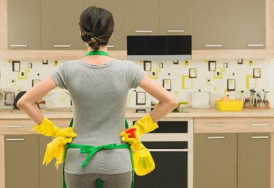 Спестете време и пари! Цялостно почистване на дом или офис до 100 кв.м. от АТТ-Брилянт - Снимка