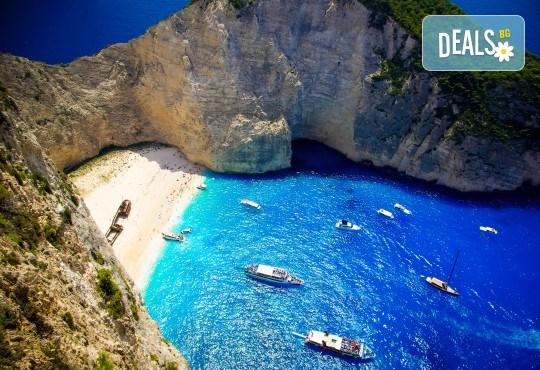 Лятна почивка на остров Закинтос - перлата на Йонийско море! 5 нощувки със закуски и вечери, транспорт и водач от България Травъл - Снимка 3