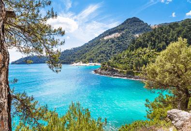 Почивка на красиви остров Тасос! 5 нощувки със закуски и вечери в хотел 3*, транспорт и водач от България Травъл - Снимка