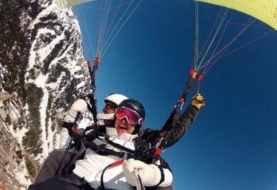 Височинен тандемен полет от Сопот, Беклемето, Витоша или Конявската планина с HD заснемане от Клуб за въздушни спортове Дедал - Снимка