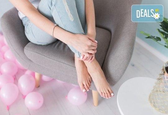 Лазерно лечение на гъбички по ноктите + медикамент в Салон за красота