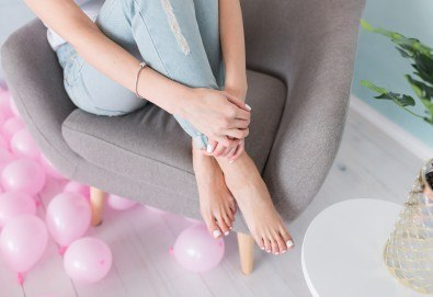 Покажете краката си без притеснения! Лазерно лечение на гъбички по ноктите в Салон за красота Вили - Снимка