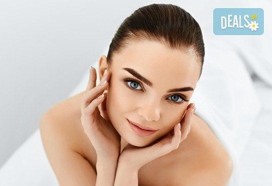 Чиста кожа! Мануално почистване на лице с професионална медицинска козметика в студио Нимфея - Снимка 4