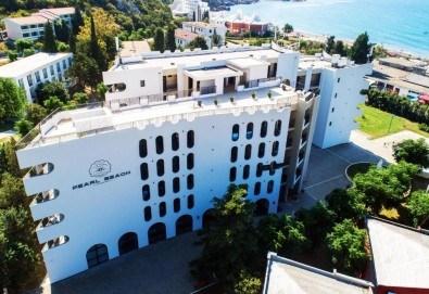 Лукс почивка на Черногорската ривиера! 5 нощувки със закуски и вечери във Hotel Pearl Beach 4* и транспорт, възможност за посещение на Дубровник - Снимка