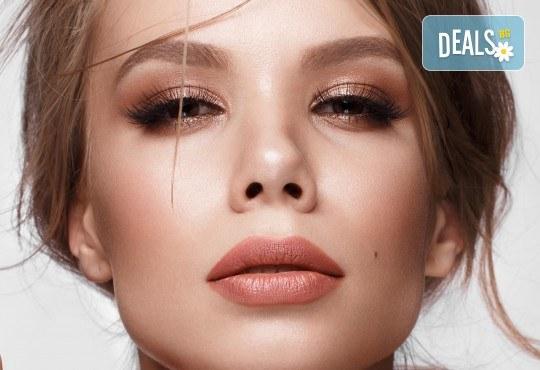 Поставяне на 3D мигли Russian Volume Lashes в салон за красота Madonna