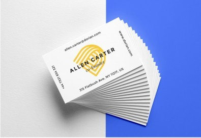 Изработка на 100 бр. едностранни или двустранни визитки на луксозен картон от Хартиен свят - Снимка