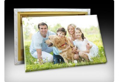 Портрет със снимка на клиента, печат на висококачествена фотохартия в размер А3 или А4 от Хартиен свят - Снимка