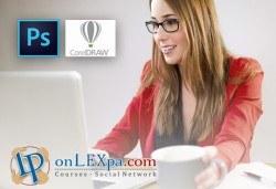 Oнлайн курс за работа с Photoshop и CorelDraw, страхотен IQ тест и удостоверение за завършен курс от onLEXpa.com! - Снимка