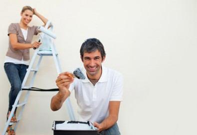 Освежете обстановката! Боядисване на стая, офис, стени или таван от майстор-бояджия на HomeDoctor.bg - Снимка