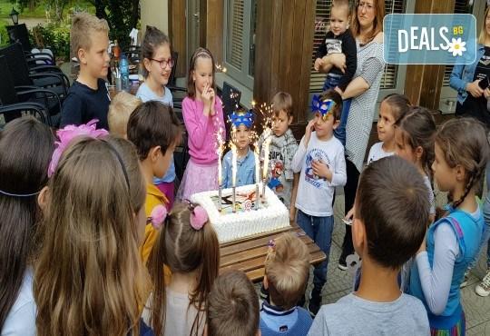 Футболно парти за детски рожден ден с много забавни игри на отбори, професионален треньор и музикална апаратура от Детски център Щастливи деца - Снимка 6