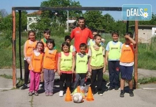 Футболно парти за рожден ден с треньор и забавни игри от ДЦ Щастливи
