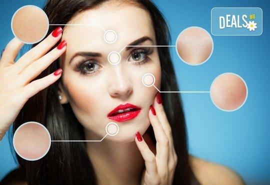 Терапия със 100% органични продукти, фитостволови клетки и биохимичен пилинг с колаген срещу пигментни петна, акнетична и проблемна кожа и фини бръчки и белези в Енигма - Снимка 3