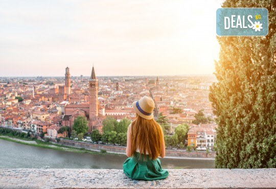 Отново в Италия! 3 нощувки със закуски, транспорт, екскурзоводско обслужване и посещение на Верона, Венеция и Загреб - Снимка 1