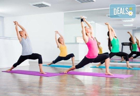Студио за аеробика и танци Фейм - 4 тренировки по избор от комбинирана гимнастика, йога стречинг, Fat Burning Class, Zumba, PortDeBras - Снимка 1