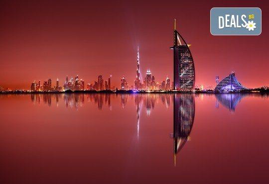 Екскурзия през септември до Дубай на супер цена! 4 нощувки с 4 закуски и 4 вечери в хотел 3* или 4*, самолетен билет, посещение на Абу Даби - Снимка 1
