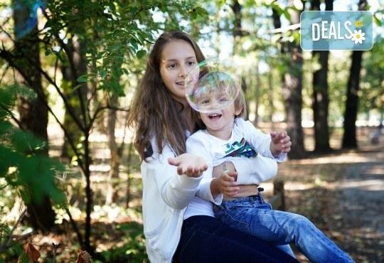 Детска, семейна или индивидуална фотосесия на открито или на адрес на клиента + подарък DVD от New Line Production - Снимка 21
