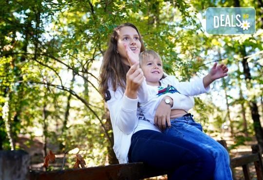 Детска, семейна или индивидуална фотосесия на открито или на адрес на клиента + подарък DVD от New Line Production - Снимка 22