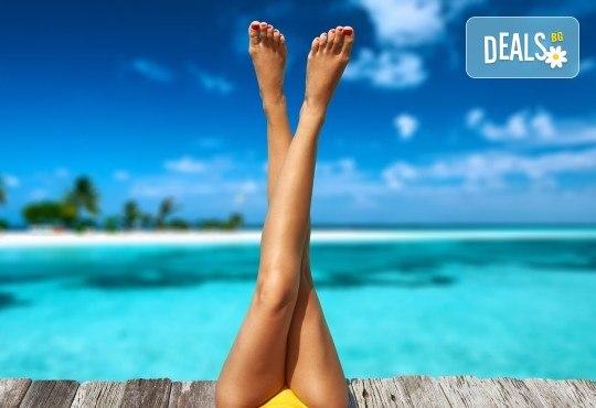 Подарете си съвършена кожа, без досадни косъмчета! Диодна лазерна епилация с гарантиран дълготраен ефект, за жени на зона по избор в NSB Beauty Center! - Снимка 3