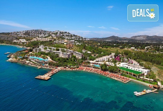 В края на лятото в Kadikale Resort 5* в Бодрум: 7 нощувки на база All Inclusive