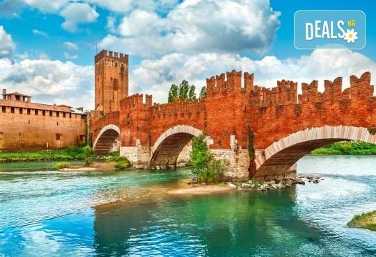 Екскурзия до Верона и Милано, с възможност за посещение на Венеция! 3 нощувки със закуски, самолетен билет с летищни такси, водач от Дари Травел - Снимка 1