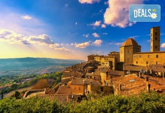 Екскурзия до Тоскана: 4 нощувки, закуски и вечеи, самолетен билет и