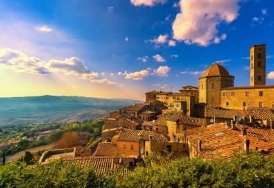 Самолетна екскурзия до Тоскана! 4 нощувки със закуски и вечери, билет с летищни такси, възможност за посещение на Чинкуе Терре, Пиза и Флоренция - Снимка
