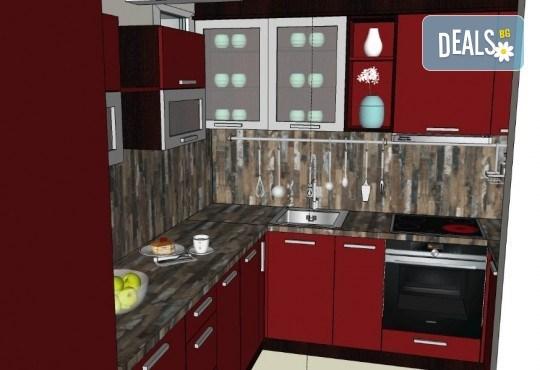 Специализиран 3D проект за дизайн на мебели + бонус: 15% отстъпка за изработка на мебелите от производител, от Дизайнерско студио Кристо Дизайн - Снимка 18