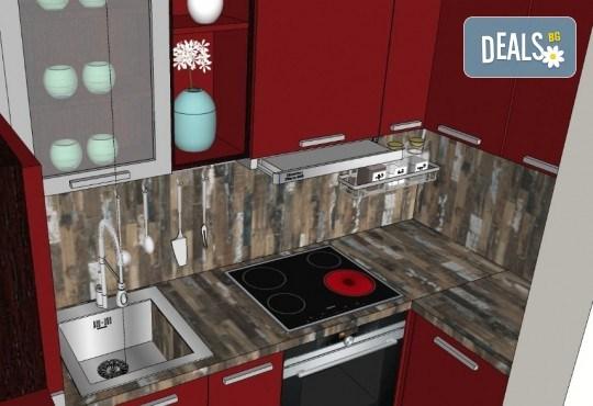 Специализиран 3D проект за дизайн на мебели + бонус: 15% отстъпка за изработка на мебелите от производител, от Дизайнерско студио Кристо Дизайн - Снимка 19