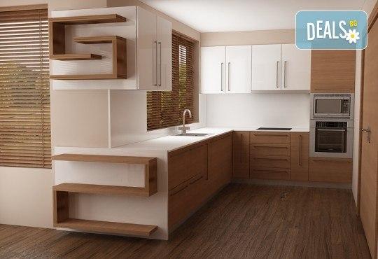 Специализиран 3D проект за дизайн на мебели + бонус: 15% отстъпка за изработка на мебелите от производител, от Дизайнерско студио Кристо Дизайн - Снимка 10
