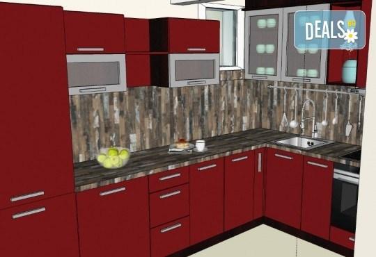 Специализиран 3D проект за дизайн на мебели + бонус: 15% отстъпка за изработка на мебелите от производител, от Дизайнерско студио Кристо Дизайн - Снимка 20